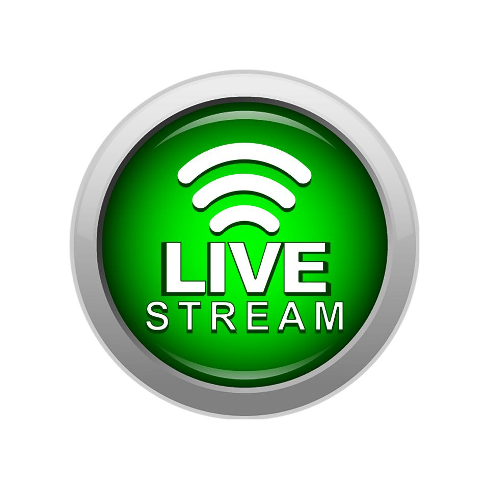 Click on the tille to access live streaming